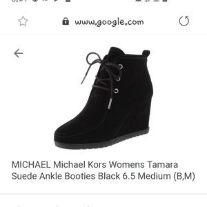 Michael Kors Shoes - MK women's tamera booties